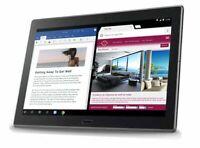 """Lenovo Moto Tab TB-X704A 10.1"""" 32GB Tablet AT&T WiFi + 4G LTE Black"""