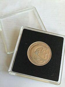 Unusual 40th Birthday Gift-1980 Singapore Birth Twenty Cent COIN