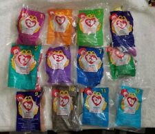 McDonald's Teenie Beanie Babies 1998 Full Set 12pc. NEW (12E)