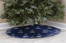 Dallas Cowboys CHRISTMAS TREE SKIRT Holiday Decoration NFL Football Team Logo