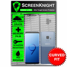 Screenknight Samsung Galaxy S9 Full Body Screen protector-Courbé Fit