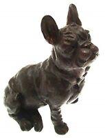 French Bulldog Figurine Bronze Sculptures Dog Bronzes Ornaments