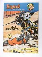 Original SIGURD Heft # 59 ( Lehning Verlag 1958-1968, mit Sammelmarke ) Z 1-2