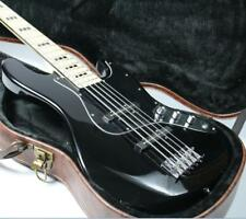 Cheaper 5 Strings JB Electric Bass Guitar Gloss Black Maple Fingerboard Instock