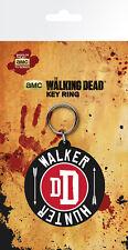 Gummi Schlüsselanhänger WALKING DEAD - Walker Hunter DD Rubber Keyring NEU 192
