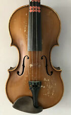 Vintage 4/4 Violin For Restoration Andreas Amati Copy Czech