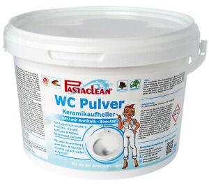 Pastaclean WC Pulver Aktiv Plus 2,5 Kg mit Keramikaufheller