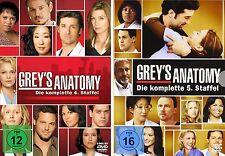 GREY'S GREYS ANATOMY  DIE KOMPLETTE STAFFEL 4 + 5 DVD DEUTSCH