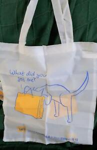 Cats Protection Foldabag - What Did You Get for me - 43 x 39cm (with pouch/clip)