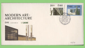 Ireland 1987 Europa. Modern Architecture set on First Day Cover