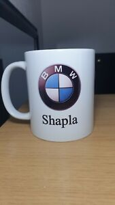 Personalised BMW Mug Car Logo Mug Dad Grandad Uncle Mum Present Gift Friend Name