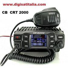 CRT 2000 Ricetrasmittente CB Am/Fm 40 Canali LCD Colori 12/24V