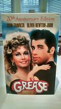 Grease 20th Anniversary Edition (1998) VHS  w/Megamix CD & Script