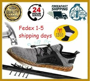 Indestructible Ryder Shoes Men And WomenSneakers Boots Work Safety Breathable US