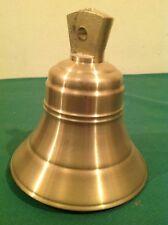Campana De Bronce Antigua Medidas Alto 15CM X Boca 13,5CM Peso 1,400 KG