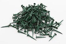 GIMP PINS / TACKS 13MM 50g  GREEN UPHOLSTERY  SUPPLIES