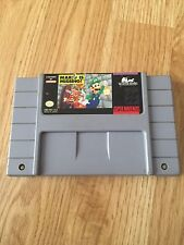 Mario is Missing Super Nintendo Game Cart Tested Works NG5