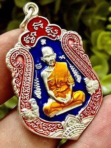 LP Ruay Wat Tako Original Box Magic Thai Buddha Amulet Charm Talisman Holy K926