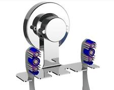 New Modern Stainless Steel Mirror Suction Cup Hanging Bathroom Toothbrush Holder