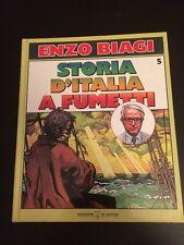 STORIA D'ITALIA A FUMETTI DI ENZO BIAGI VOLUME 5 EDIZIONE MONDADORI