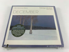 December 20th Anniversary Edition by George Winston Piano Solos Enhanced CD NEW