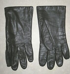 ARIS ISOTONER STYLE 88325 BROWN LEATHER DRIVING GLOVES WOMEN'S SIZE 8
