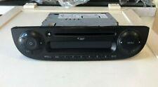 AUTORADIO ORIGINALE FIAT 500 RADIO CD MP3 NERO