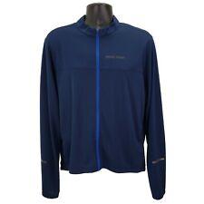 New ListingPearl Izumi Men's Quest Cycling Jersey Size Xl Full Zip Long Sleeve Blue Upf 50+