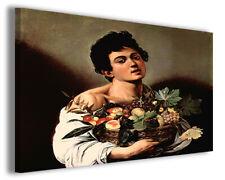 Quadri famosi Caravaggio XI stampe riproduzioni su tela copia falso d'autore