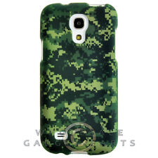 Samsung Galaxy S4 Mini Shield Camo Green Cover Shell Protector Guard Shield Case