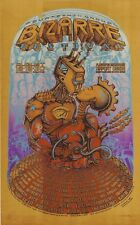 Mint & Signed Emek Foo Fighters 2000 Bizarre Festival Board Silkscreen Poster