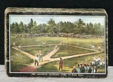 """Late 1800's -Early 1900's """"The American National Game of Baseball"""" Playing Cards"""