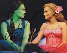 IDINA MENZEL & KRISTEN CHENOWETH SIGNED PHOTO 8X10 RP AUTOGRAPHED WICKED MUSICAL