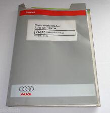Werkstatthandbuch Audi A3 Typ 8L Elektrik Elektrische Anlage ab 1997 St.04/1998