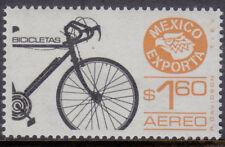 Mexico Exporta bicycles Sc.# C491a,3rd. paper, gum brilliant,thin paper