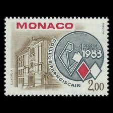 Monaco 1983 - 100th Anniversary of Franciscan College Architecture - Sc 1371 MNH