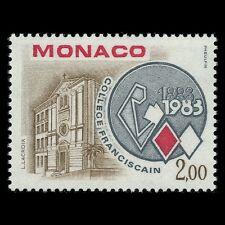 Monaco 1983 - 100th Anniversary of Franciscan College Architecture - Sc 1371 MNH