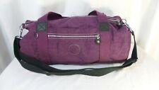 Kipling Purple Duffel Bag Small light weight travel