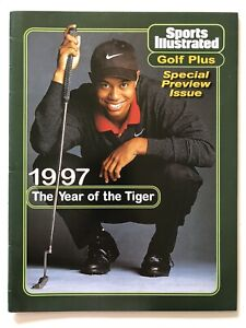 Tiger Woods 1997 Sports Illustrated Golf Plus Special Preview Issue NO LABEL