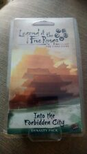 Legends of the Five Rings Into the Forbidden City (opened, condition excellent)