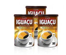 Brazilian Instant Coffee IGUACU 100g cans 3 bundles dried coffee powder