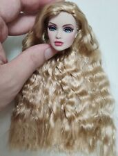 Fashion OOAK Lady In Red Erin Reroot Doll Head FR Royalty Perfect