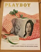 Playboy - December, 1957  *VERY GOOD CONDITION*FREE SHIPPING USA