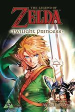 Legend of Zelda Twilight Princess Volume 5 Manga GN Akira Himekawa New NM