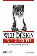 Web Design in a Nutshell: A Desktop Quick Reference by Jennifer Niederst (Book,…
