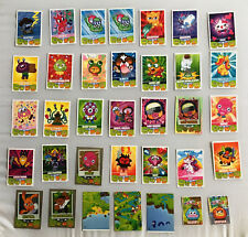 MOSHI MONSTERS CARDS BY TOPPS MASH UP TRADING CARDS SERIES 1 & 2 BULK 35 CARDS