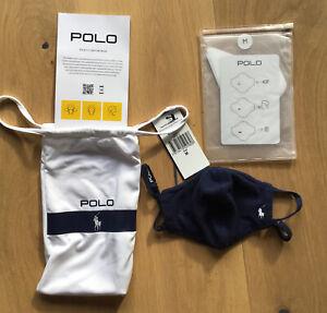 Polo Ralph Lauren Wimbledon 2021 Face Mask ~ NEW