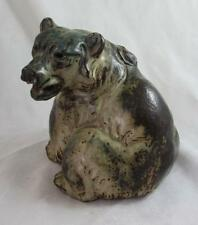 Royal Copenhagen Stoneware 20206 RC Large Bear Sitting Knud Kyhn Very Rare Find