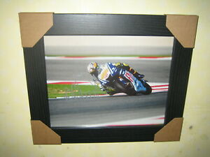 Valentino Rossi Excellent Hand Signed Photograph {10x8} Framed + CoA