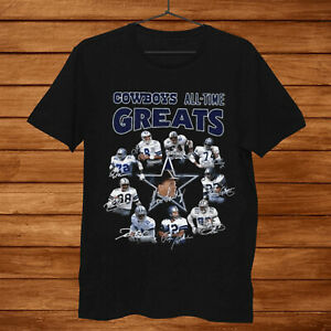 Dallas Cowboys All Time Greats Coach And Players Signatures Shirt Birthday gift